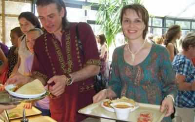 Обед в Рададеше