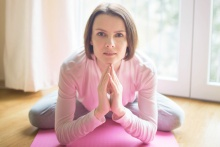 Вероника Уделис, тренер по йоге, пилатесу.